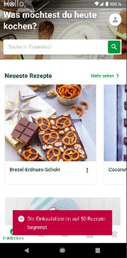 Cookidoo App Android