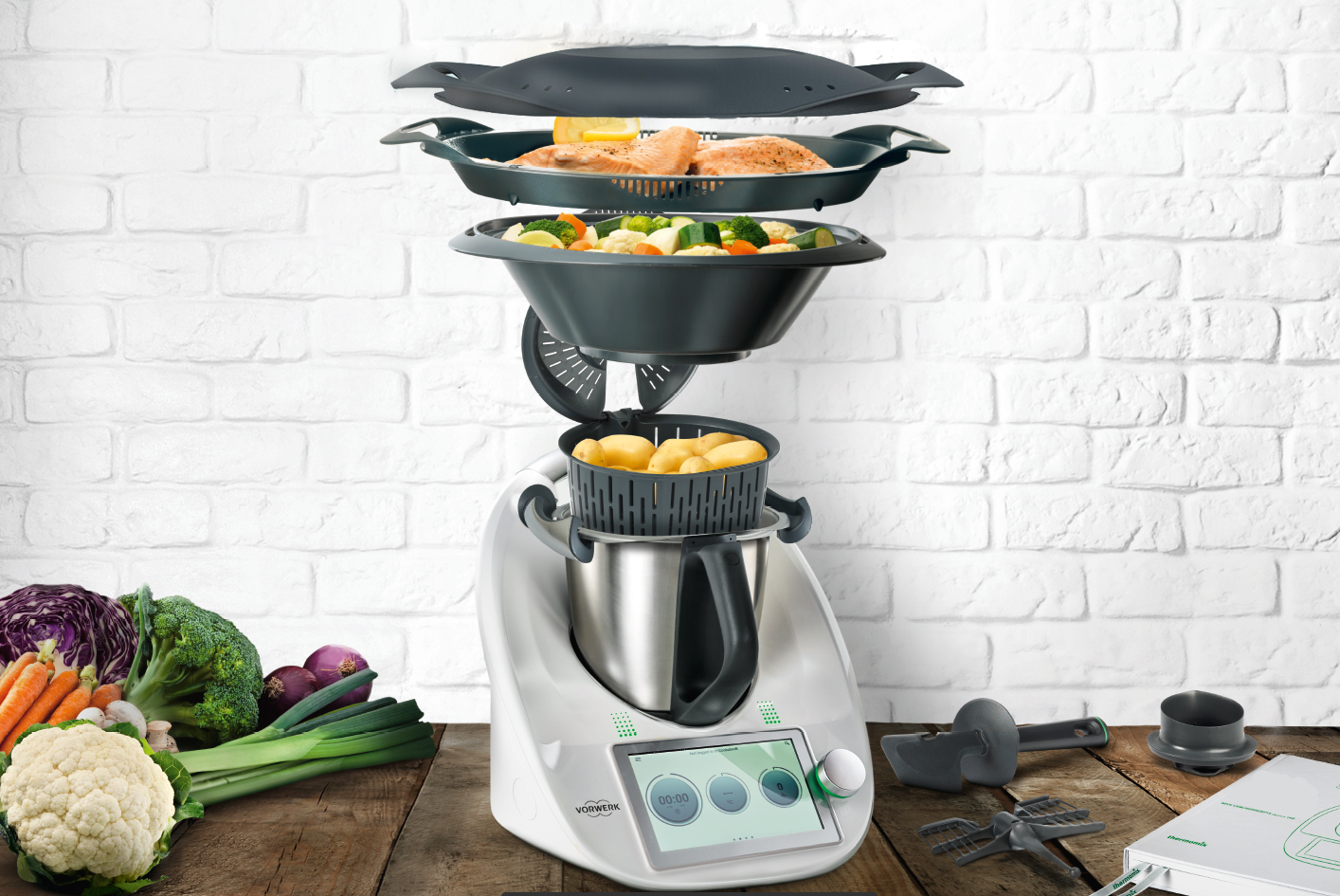Thermomix TM6: The all-in-one kitchen appliance to cook, ferment, blend, and even clean itself (фото 1)